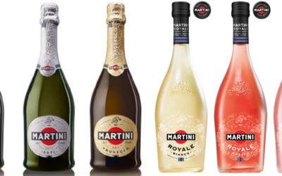 Martini & Rossi veste aperitivi e spumanti con packaging green e tecnologici