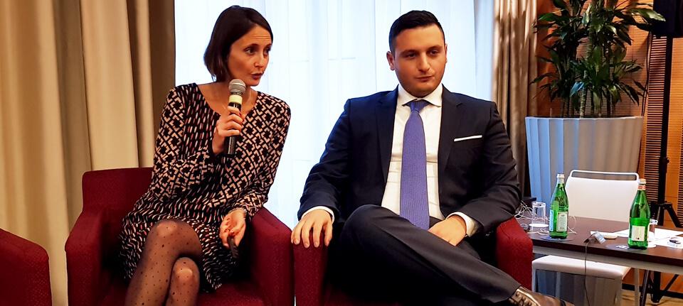 Rossana Rugginenti e Giancarlo Turturici