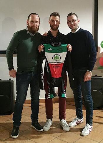 Gabriele Stangoni e Americo Pezzola, titolari di Copicad e di Jeko Sportswear