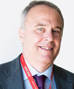 Giorgio Bavuso, direttore Commercial and Industrial Printing di Ricoh Italia
