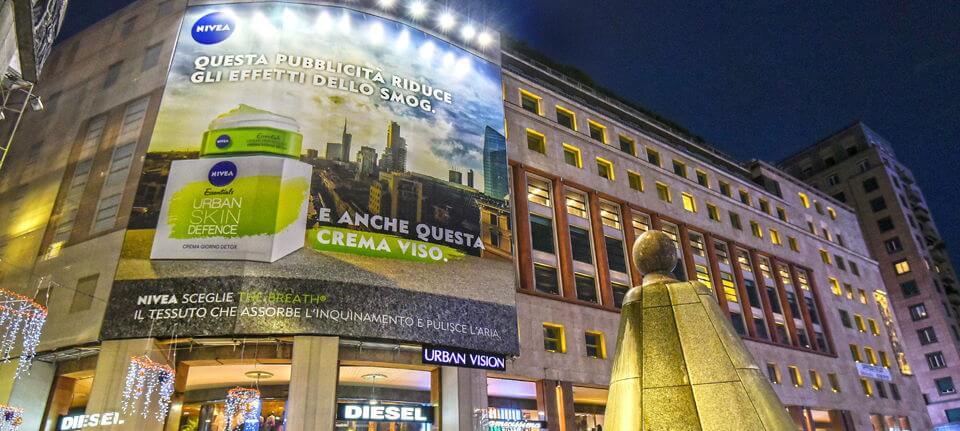 L'OOH si veste di verde e riporta l'ambiente in città