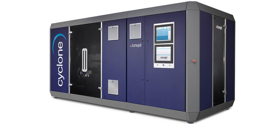 Cyclone, il sistema di stampa direct-to-shape di Tonejet.