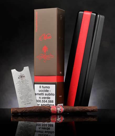 Il Moro - top di gamma di Manifatture Sigaro Toscano - rappresenta il sigaro Toscano da collezione per eccellenza