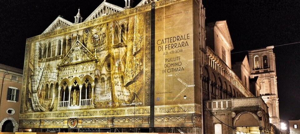 Gruppo Masserdotti firma  la copertura della Cattedrale di Ferrara