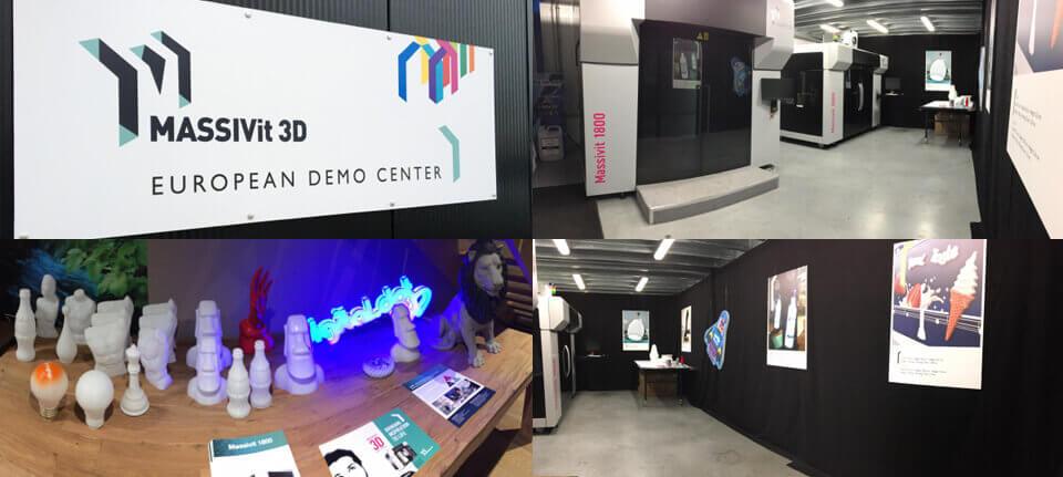 Nuovo centro demo in Belgio per Massivit 3D