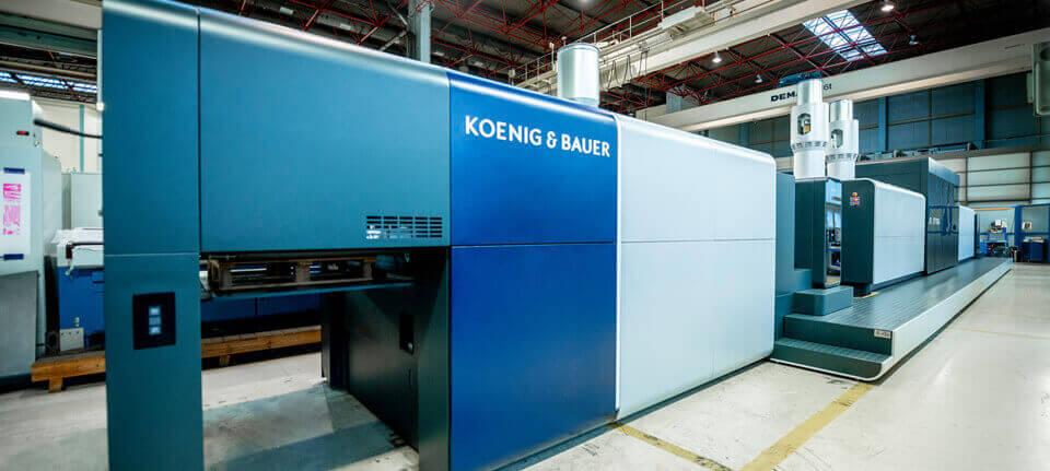 Koenig & Bauer e Durst Phototechnik, una joint venture nella stampa digitale del cartone