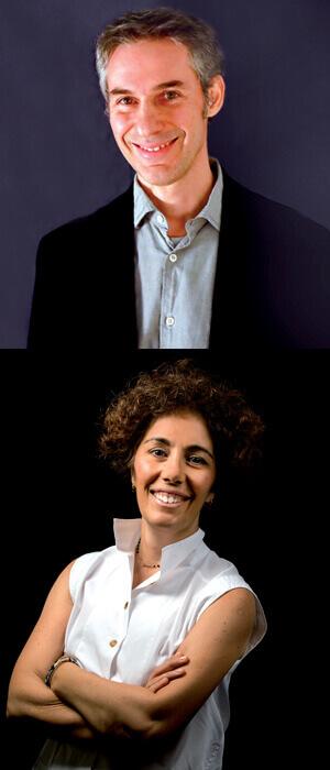 Antonello D'Elia e Federica Setti di GroupM: la campagna LAS OOH! porta nuovi stimoli alle aziende.