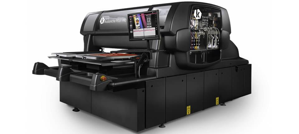 La tecnologia che reinventa la stampa su poliestere