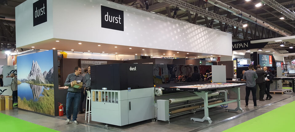 Viscom 2019, successo per le soluzioni integrate firmate Durst