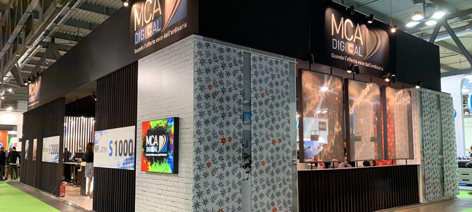 MCA Digital a Viscom Italia 2019: sostenibilità, textile e stampa 3D