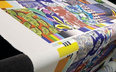 La stampa digitale è il motore dell'innovazione nell'industrial tessile