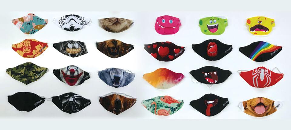 Lavabili, riutilizzabili e personalizzate: così le mascherine di comunità che spopolano sul web