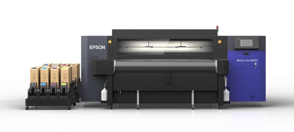 Epson presenta Monna Lisa 8000